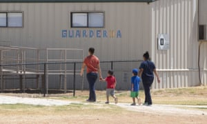The Dilley detention center in Texas is the largest such facility for families in the country.