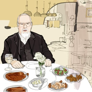Lunch with Sir Peter Blake.