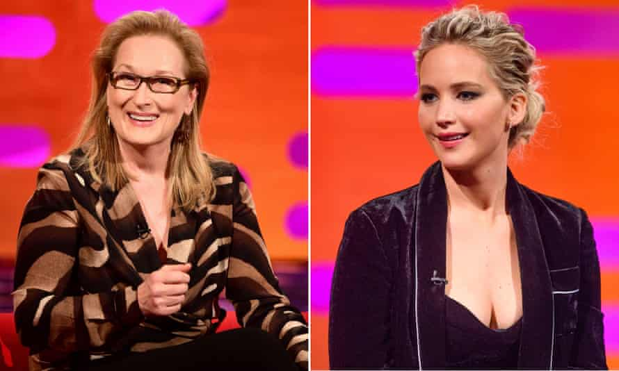 Meryl Streep, left, and Jennifer Lawrence have spoken out after Weinstein's lawyers filed a motion to dismiss the suit.