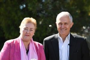 Malcolm Turnbull (right) describes Ann Sudmalis as a 'phenomenal' member of parliament who deserved to stay on.