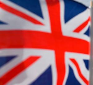 A Union Flag.