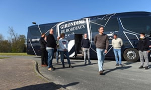 Bordeaux have allowed medical workers to use their team bus in order to travel to overwhelmed hospitals.