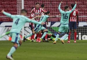 Levante lead the La Liga leaders.