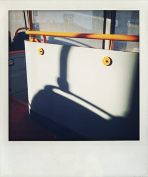 Top deck of the bus