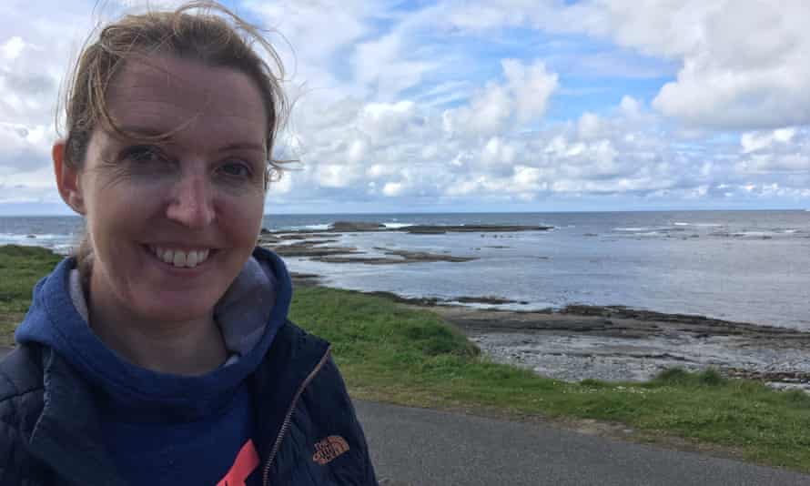 Vicky Phelan in Kilkee, County Clare