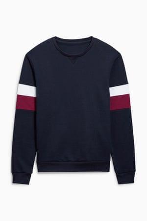 Striped sleeve, £28