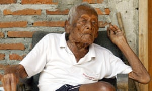 Indonesian Sodimejo is believed to be the world's oldest man, at 145.