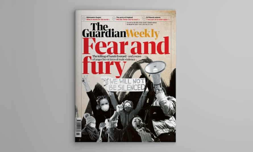 Guardian Weekly cover 19 March 2021