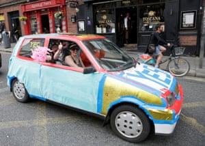A 'Yes' car in Dublin
