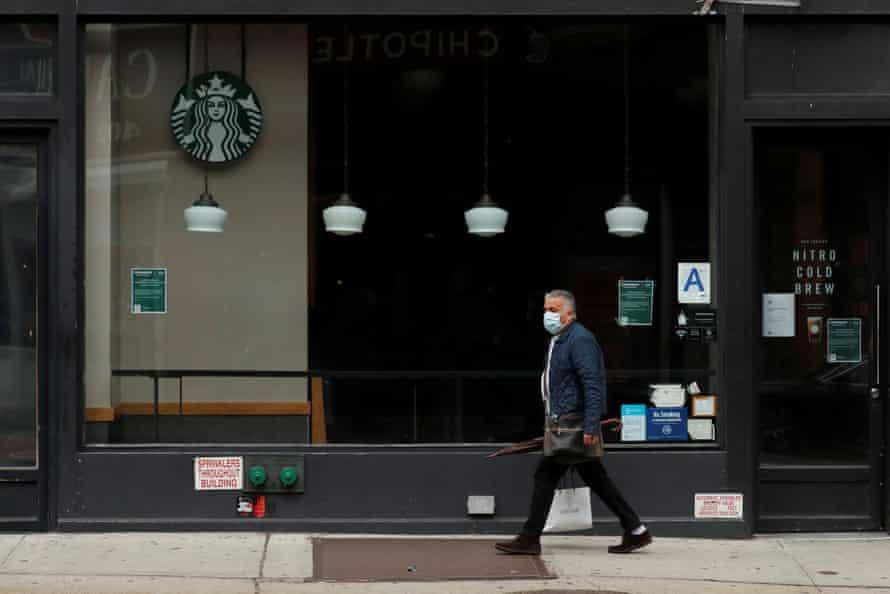 A Starbucks in New York.