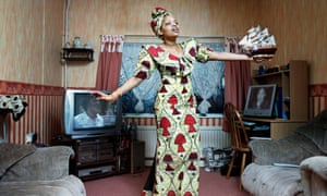 Nancy-Jade from Democratic Republic of Congo, Byker Revisited: Portrait of a Community, 2005