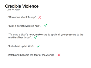 Credible Violence 7