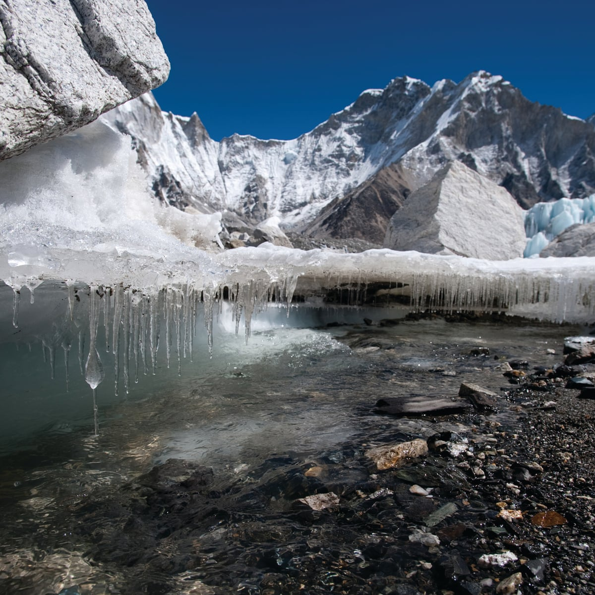 A third of Himalayan ice cap doomed, finds report | Environment | The  Guardian
