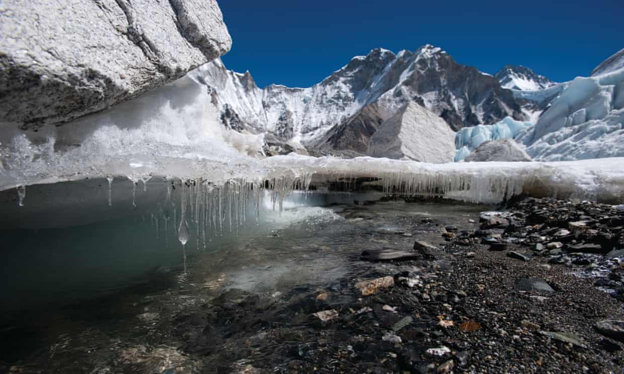 Climate change threatens fragile Himalayan glaciers