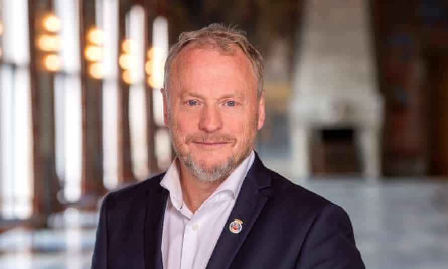 Raymond Johansen, governing mayor of Oslo.