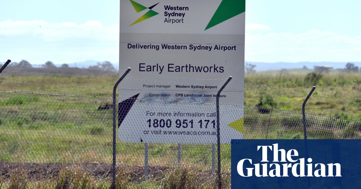 NSW paid almost as much as commonwealth for land near Western Sydney airport – The Guardian