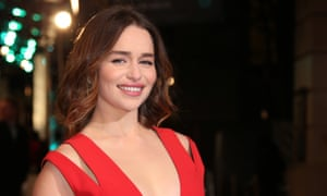 Emilia Clarke soon to be in a galaxy far, far away.