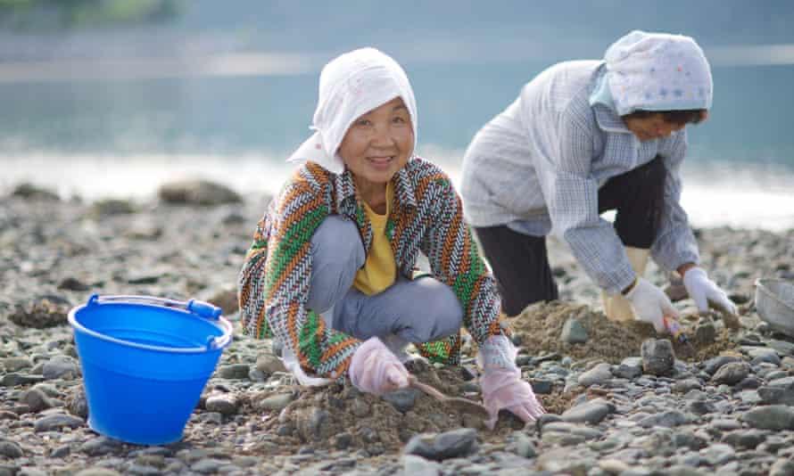 Fisher ladies in Okinawa, Japan