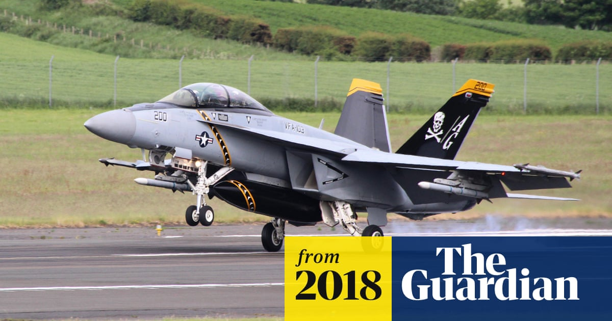 Scottish government criticised over US military use of