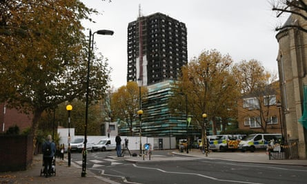 Grenfell Tower in west London.