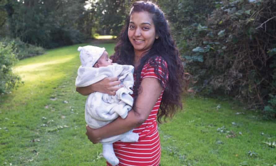 Shivalee Patel opted for a freebirth after saying she had lost faith in midwives.