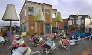 Checkpoint cafe in Terneuzen, Netherlands