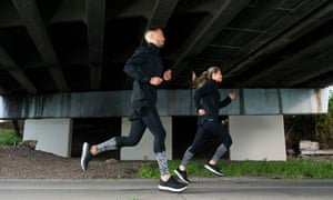 Tight fit: 2XU compression leggings can be worn during or after exercise to reduce soreness.
