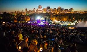 Edmonton folk festival.