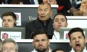 Eddie Jones watches on as England's huge half-time lead over Scotland disintegrates at Twickenham.