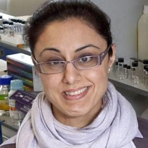 Dr Farhat Khanim, research fellow at the University of Birmingham's school of biosciences