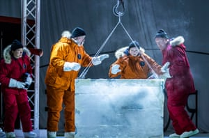 Sarah Champion, Stephen Gadd, Jeni Bern and Mark Le Brocq in Scottish Opera's Anthropocene.