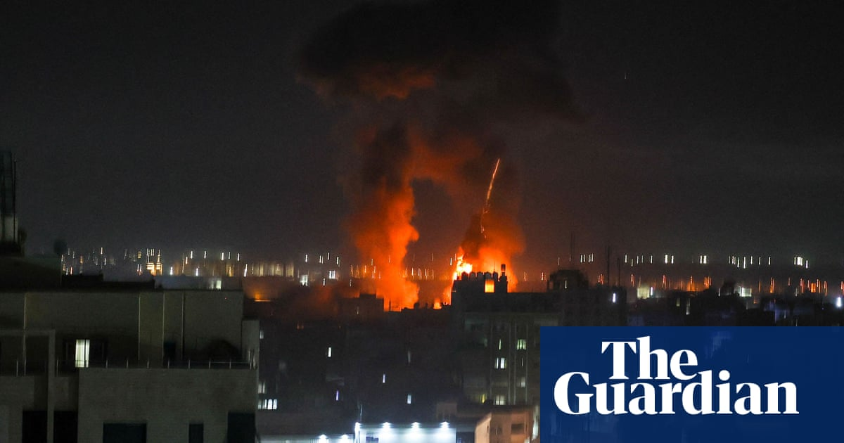 Israel carries out Gaza Strip airstrike after militants release incendiary balloons
