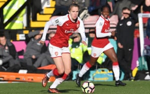 Vivianne Miedema in action for Arsenal against Sunderland this month.