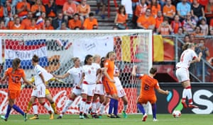Sherida Spitse scores number three for Holland.