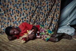 Macleen by Carol Allen-StoreyAllen-Storey's work focuses on vulnerable people, including people with Aids in Africa. Her clients include Save the Children, WWF and Unicef