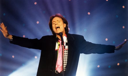 Cliff Richard performing on the Des O'Connor Tonight show