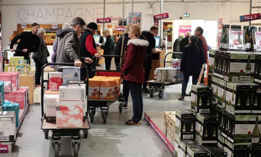 The Calais Wine Superstore in 2019
