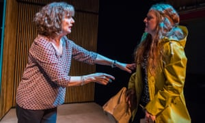 Bereft intruder ... Karen Archer and Eliza Collings in The Other Place.