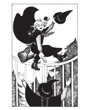 'Mildred looked up and saw Maud swooping over the gates, waving her hat in the air.' Mildred Hubble's best friend Maud arrives at Miss Cackle's Academy for Witches, in Jill Murphy's A Bad Spell For the Worst Witch. Mildred, the schoolgirl better known as the Worst Witch, is one of Murphy's most beloved creations.