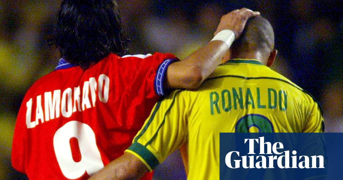 Iván Zamorano on Ronaldo, Chile at the Copa América and his 1+8 shirt