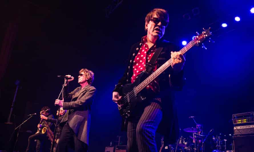 Richard and Tim Butler of the Psychedelic Furs perform at O2 ABC Glasgow.