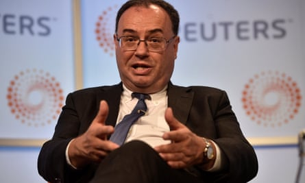 Andrew Bailey, CEO of the Financial Conduct Authority