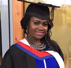 Mary Agyeiwaa Agyapong who died on Sunday at Luton and Dunstable University hospital.