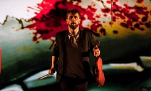 Aaron Monaghan as Martin in The Second Violinist.