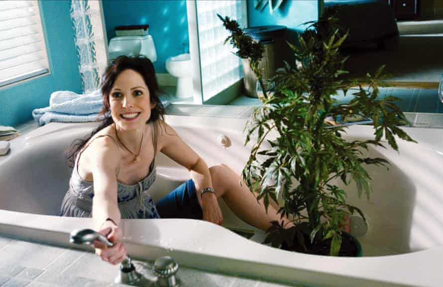 Mary-Louise Parker as Nancy in Weeds.