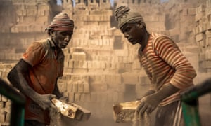 Workers toil from dawn to dusk for meagre pay in the brick fields of Bangladesh