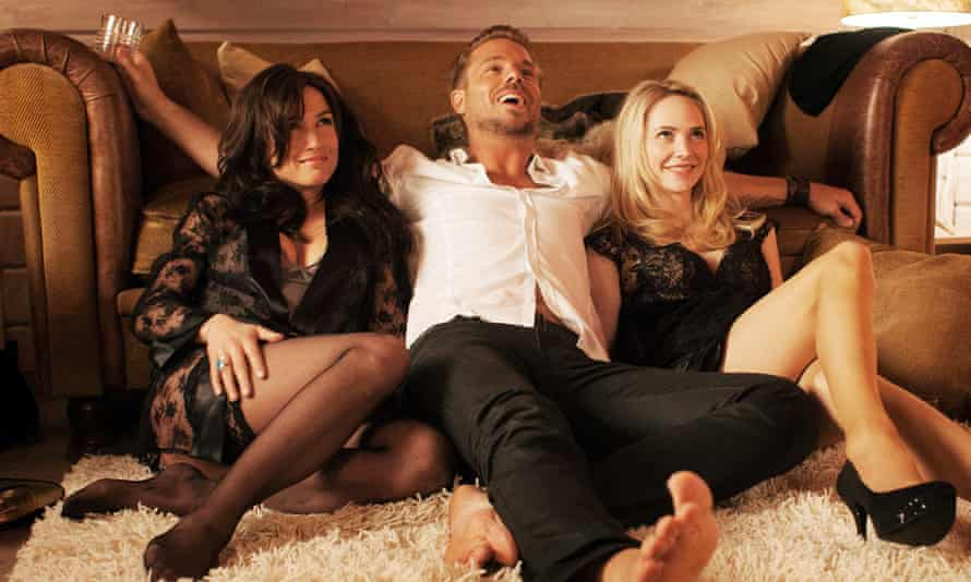 Corrupt swingers … stars of The Neighbours, in which a foursome goes fatally awry.