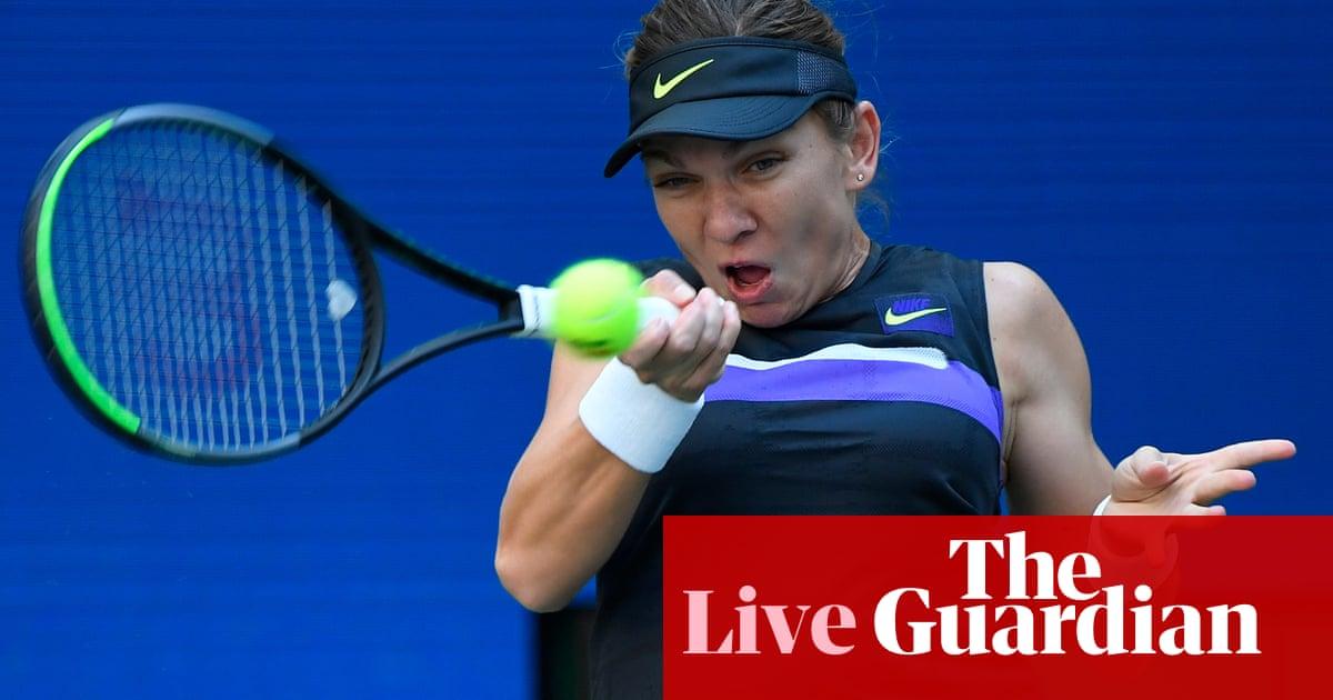 US Open 2019: Evans, Osaka and Konta progress, Halep in action – live!