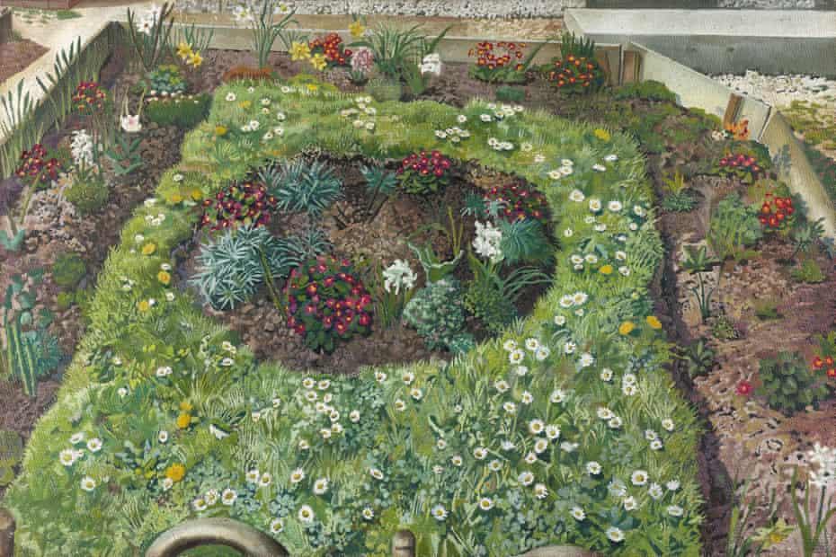 Sir Stanley Spencer Cottage Garden, Leonard Stanley Executed in 1940
