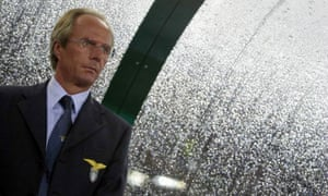 Sven-Göran Eriksson takes charge of Lazio in the Champions League.
